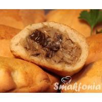 Pierogi z pieca - z kapustą i grzybami