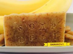 Mydło Bananowe Soap Deli Manufaktura Naturalnego Mydła