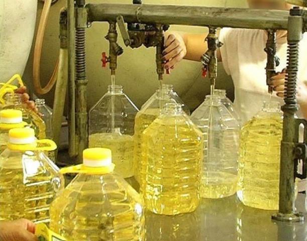 Rafinowany olej słonecznikowy, olej kukurydziany
