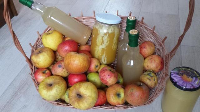 Ocet Jabłkowy Swojski, na miodzie Żywy niepasteryzownay EKO