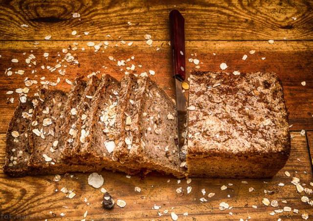 Chleb domowy na prawdziwym zakwasie