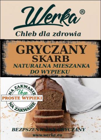 Mieszanka do wypieku chleba Gryczany Skarb 1 Kg