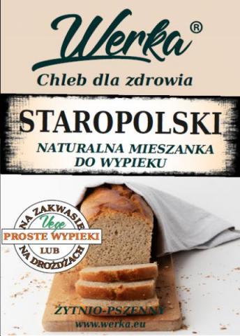 Mieszanka do wypieku chleba Staropolskiego 1 Kg