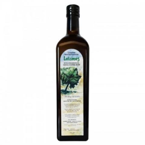 Oliwa z oliwek extra virgin Latzimas